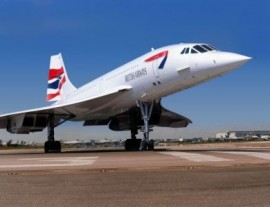 Concorde Ready for take off Heathrow - 16x12