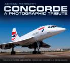 New Republished Concorde Tribute Book by Adrian Meredith