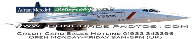 40th Anniversary - Concorde Photos and Memorabilia