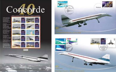 Concorde Stamp Collection