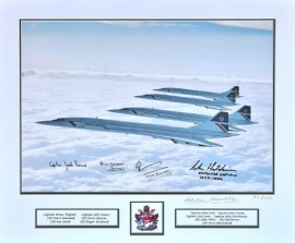 Four Concordes 1986