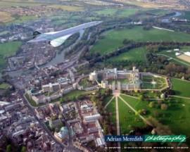 Concorde Over Windsor Castle - 12x10