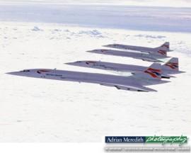 Concorde Formation - 16x12