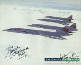 Concorde Formation - Signed 16x12
